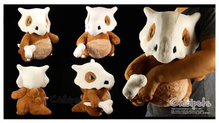 Cubone Handmade Custom Plush