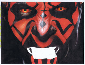Darth Maul full size WIP1 by jenchuan