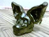 Golden Cat by Potterycat