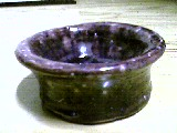 Purple Bowl by Potterycat