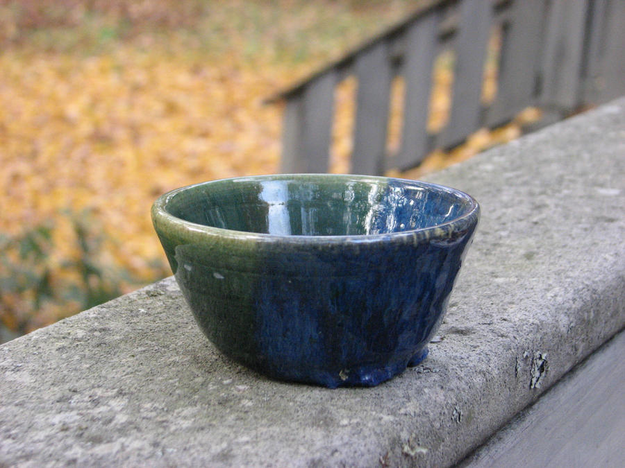 Two colored bowl by Potterycat
