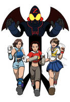 Running Girls By Porto881 by CyRaX-494