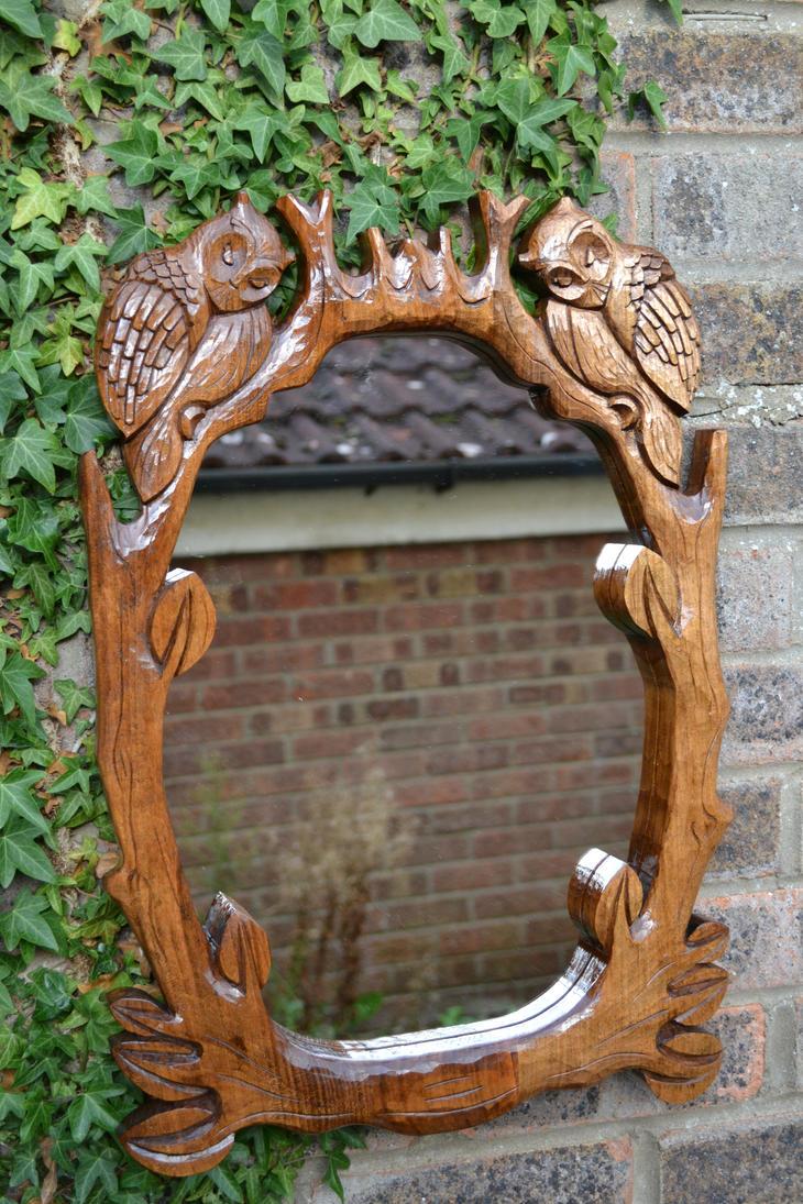 Hand carved mermaid sea siren sculpture handmade nautical wood