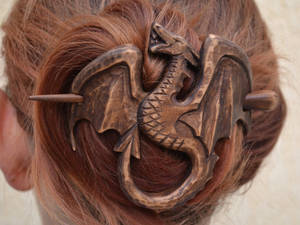 Dragon Hair Barrette