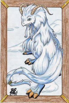 Legend of Mana blue dragon