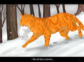 He will be a warrior by Mizu-no-Akira