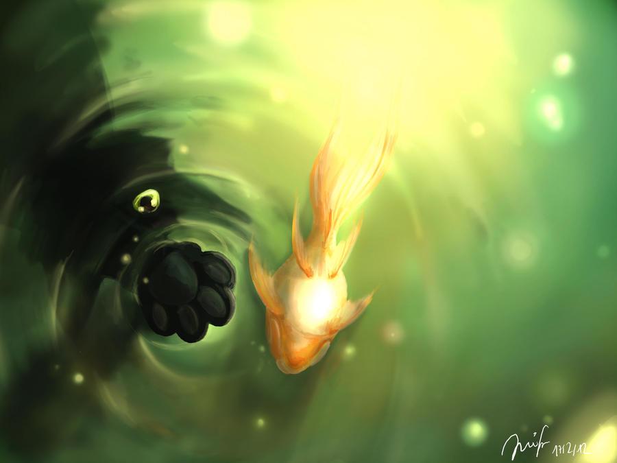 Goldfish by Mizu-no-Akira