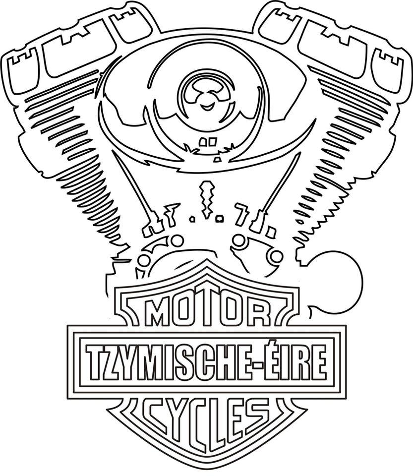 Harley Davidson Engine By SlavnyMir On DeviantArt