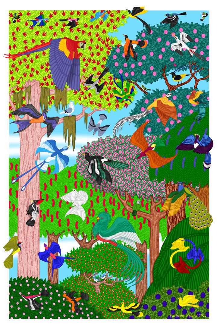 A Celebration of Birds by The-Land-of-Ny