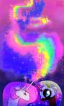 Request: Princess Celestia VS Nightmare Moon