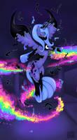Princess Luna Breaking Free