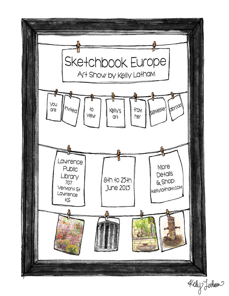 Sketchbook Europe by SleepyHeadKL