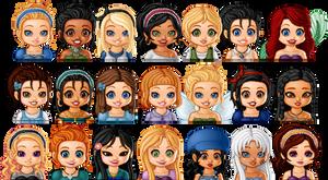Disney Girls by Christine-Love