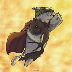 Gato Volando by omar-aguilar