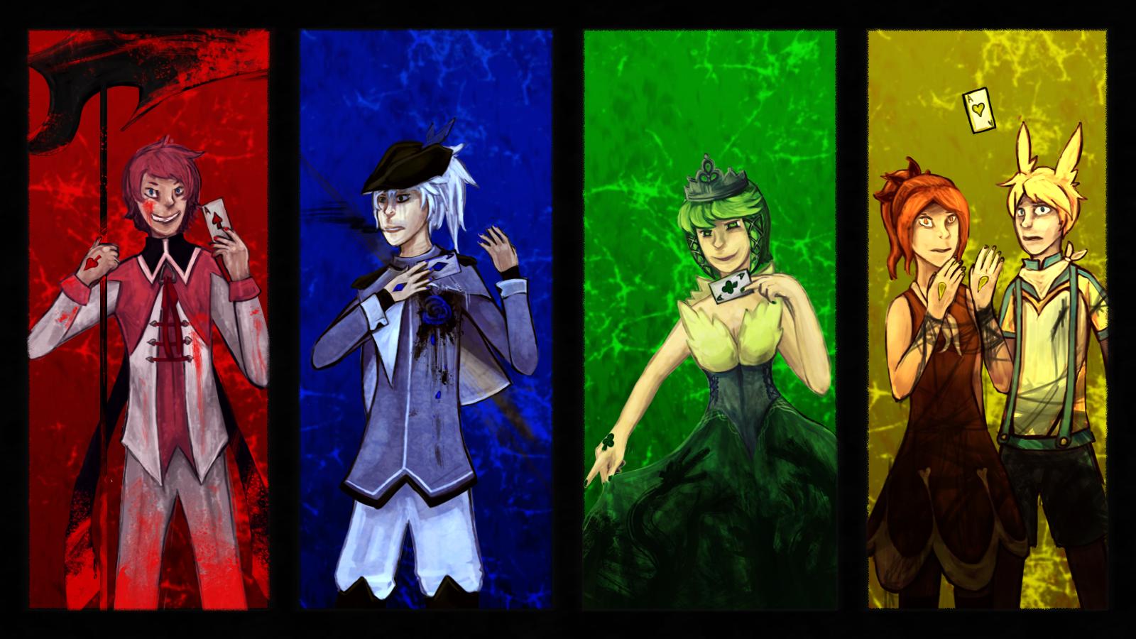 AS: [E14: Team PedoPolarBear] Theme 8: Cards by kolo-dragon