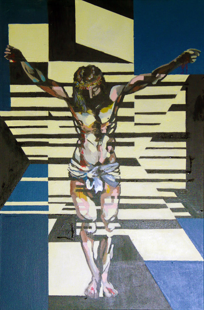 Pinturas:Surreal:Cristo by manuelpadilla