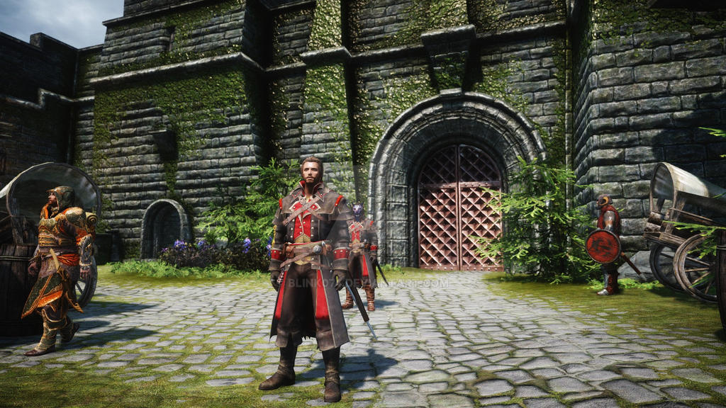 Skyrim Assassin S Creed Rogue Armor Mod By Blink074 On Deviantart