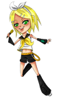 Commision Example: Rin Kagamine.