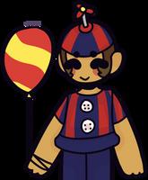 here's a balloon kiddo by spr1nq--trap