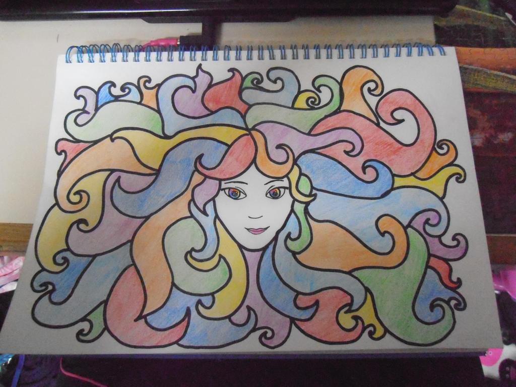 Rainbow Girl by DJChocolate-Lover
