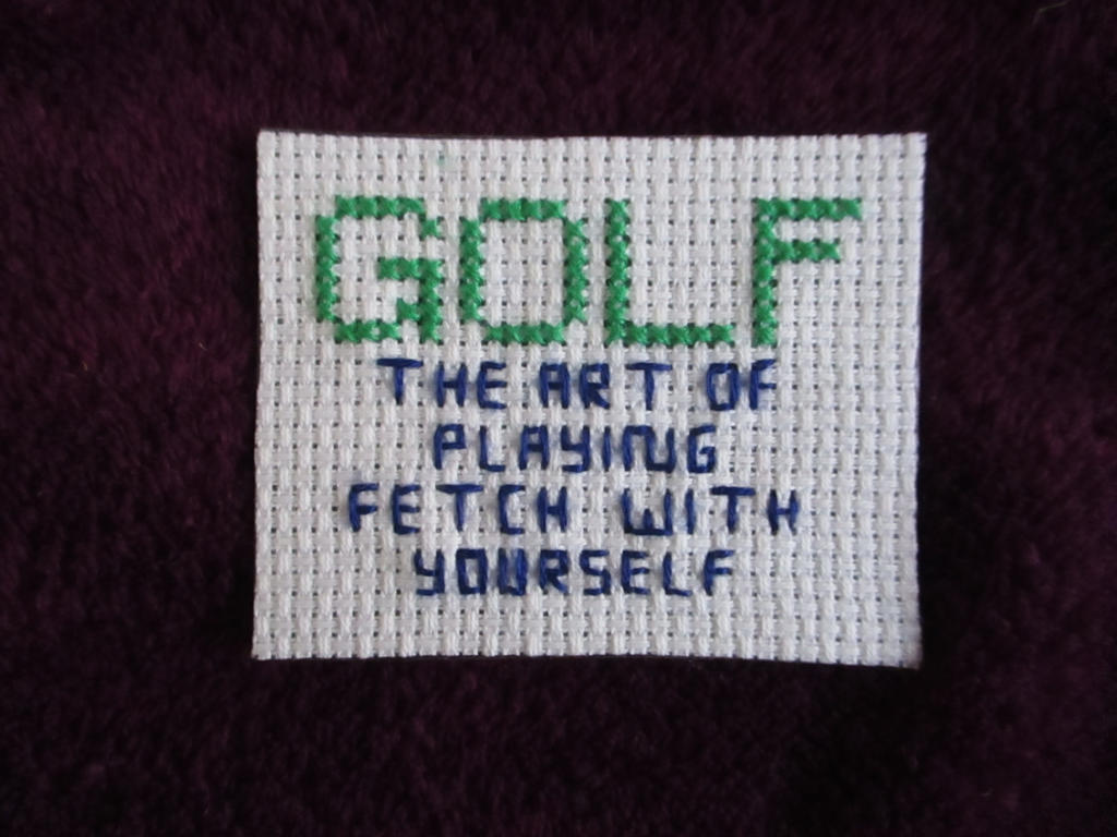 Golf Magnet by DJChocolate-Lover