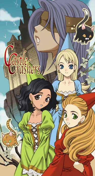 castle crashers princesses by yukiyanagi1111 on deviantart