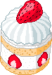 strawberry shortcake mini by xz3r0bugx