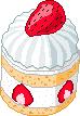 strawberry shortcake mini by xz3r0bugx