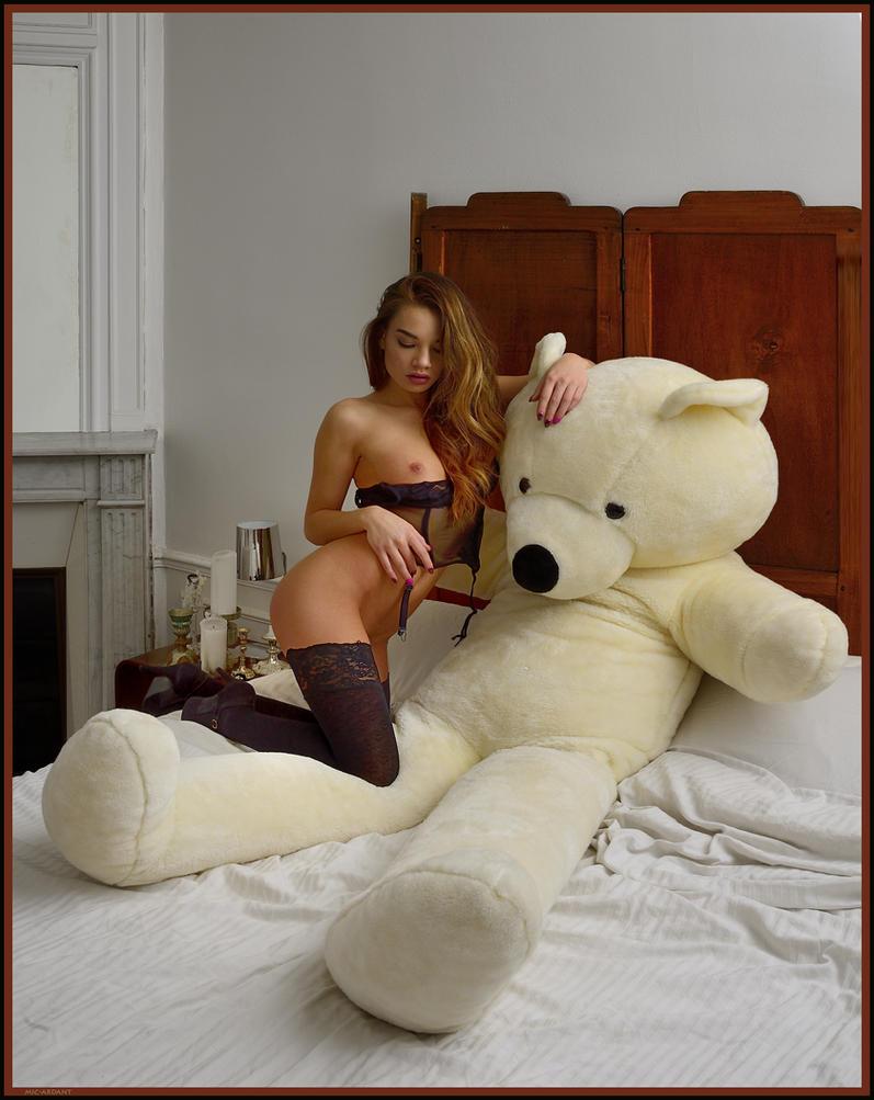 It is MY Teddy ! - 2 - by mic-ardant