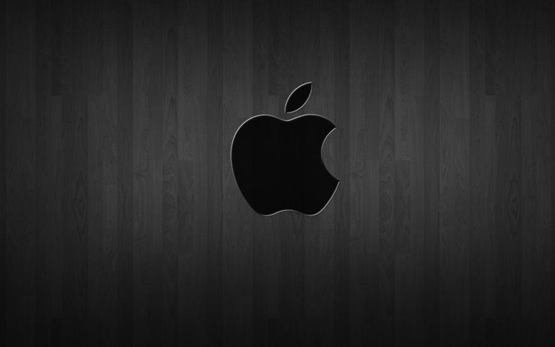 Black wood Apple wallpaper by inspironlover. Black wood Apple wallpaper by inspironlover on DeviantArt