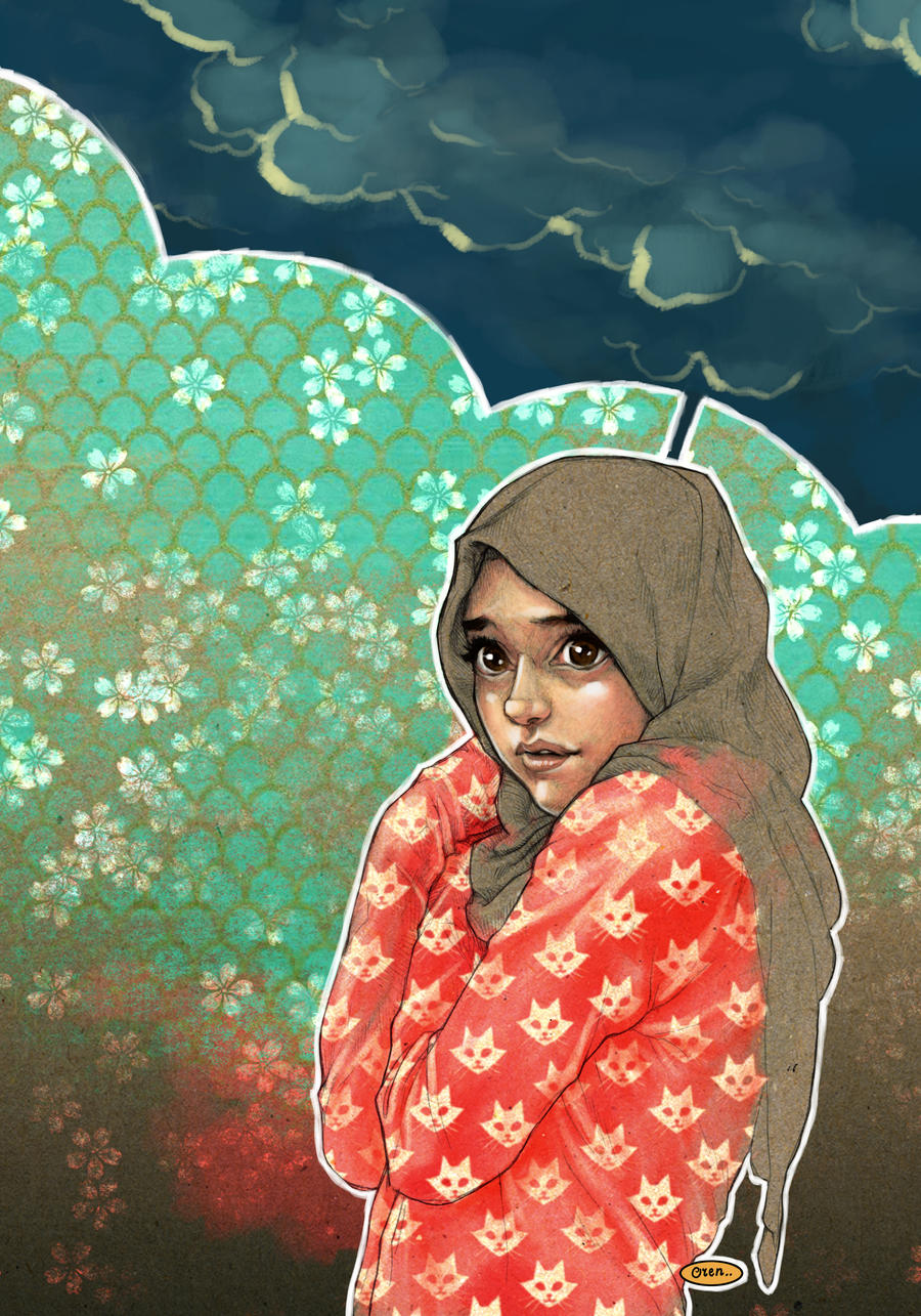 HIJAB GIRL by solitarium