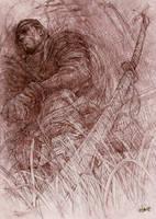Lan Mandragoran by solitarium