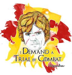 Tyrion Lannister by BorjaAndrea
