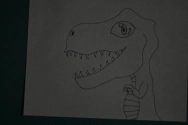 Kawaii Dinosaur (009) by Cheveste666