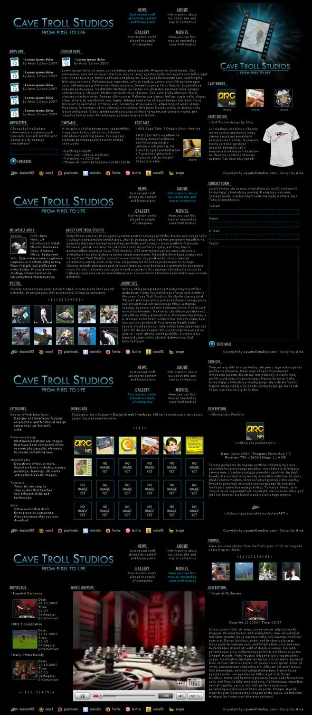 Cave Troll Studios by Arce
