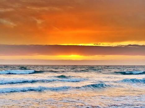 Barred Sunset