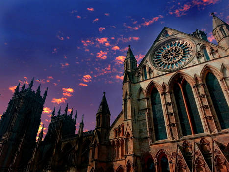 York Minster Sunset