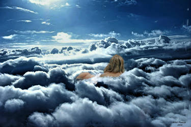 Ariel Pascar Swimming in the clouds by apascar