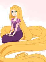 tegaki - Rapunzel by medli