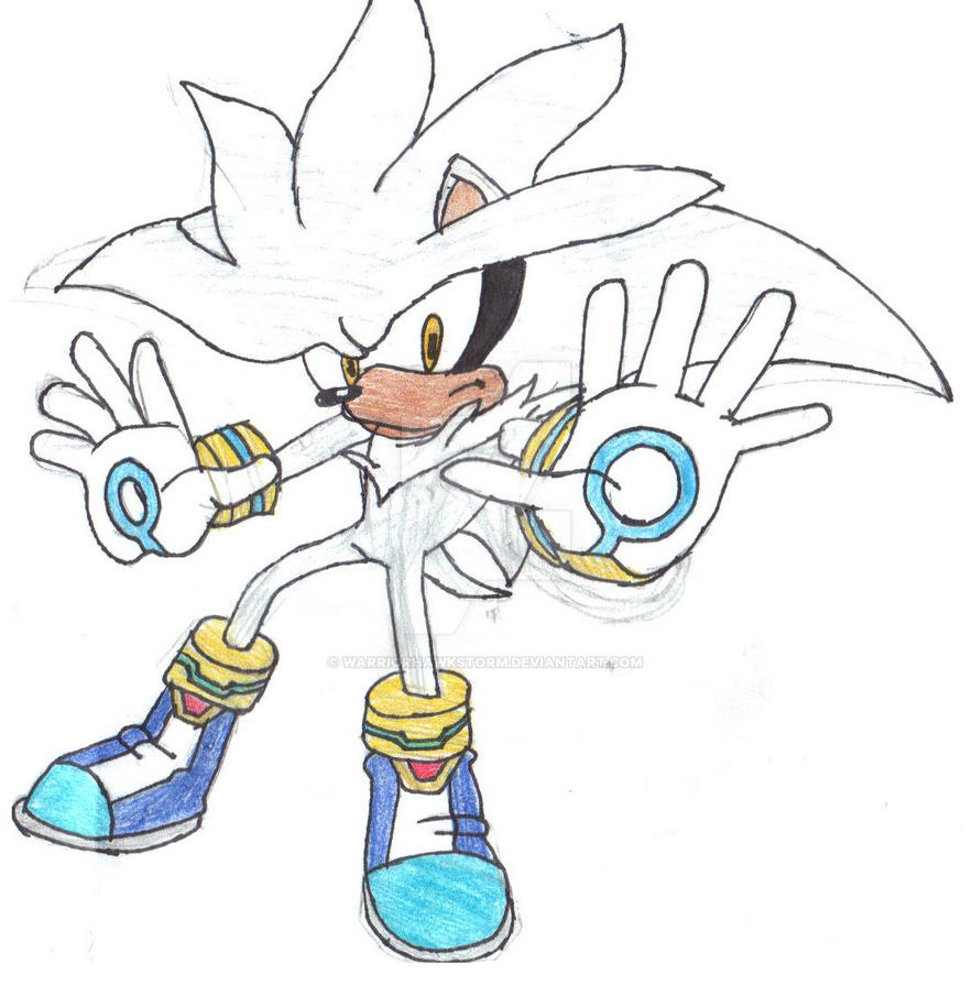 Silver The Hedgehog By WarriorHawkStorm On DeviantArt