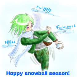 Having a snowball time