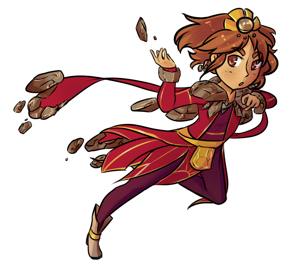 Taliyah Chibi - League of Legends by Turquoise-Cherry