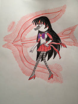 Margaret as Sailor Mars