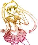 - sailormoon sketch -
