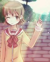 nichijou - yuuko aioi by luminaura