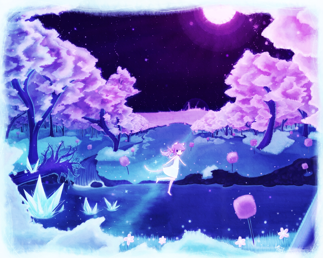 - luminaura moon night - by luminaura