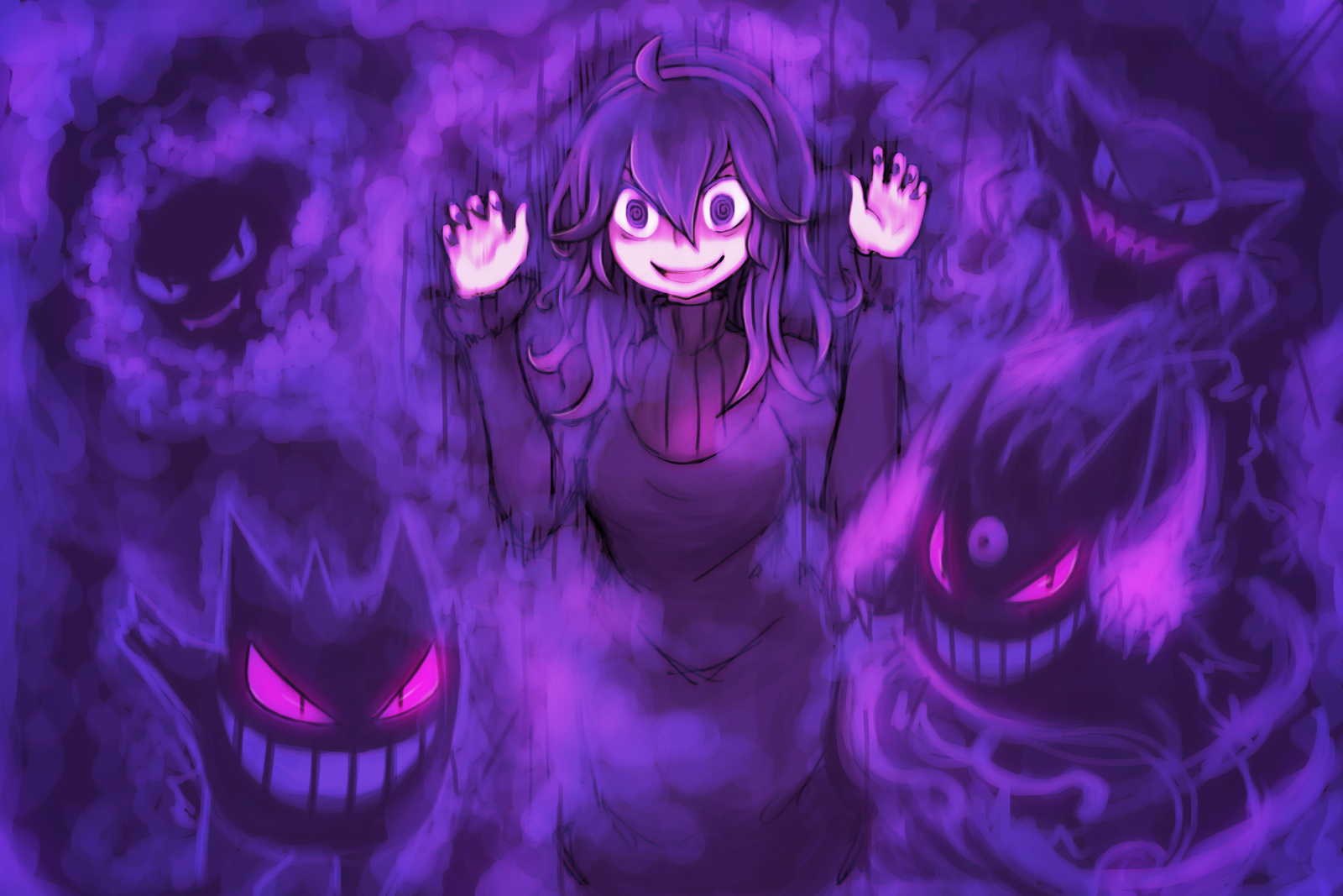 - Pokemon x/y - Hex Maniac - by luminaura