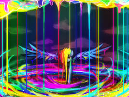 The birth of a rainbow by luminaura