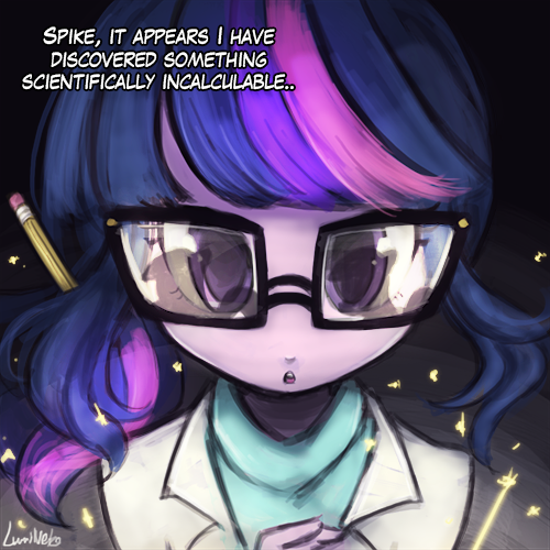 Scientifically Incalculable by luminaura