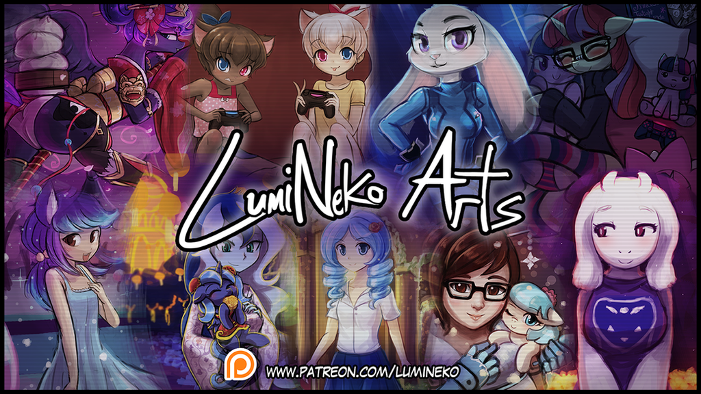 Lumineko Arts - Patreon - Season 3 - 2017 by luminaura